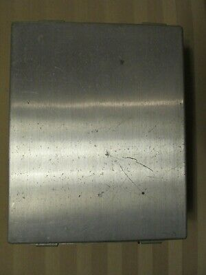 Hoffman Engineering Metal Enclosure Unused 4 X 8 X 10 Electrical Box