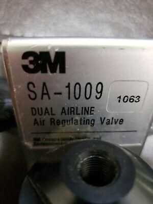 3m Sa-2500 Dual Airline Supplied Air Respirator W Sa-1009 Air Regulatorextra