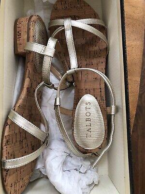 Beautiful Gold Talbots Summer Sandals Size - Beautiful Summer Sandals