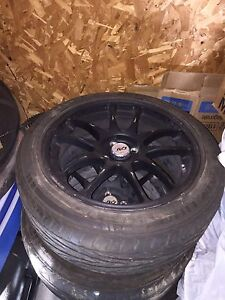 R185Z17 mags and tires 4x 100mm