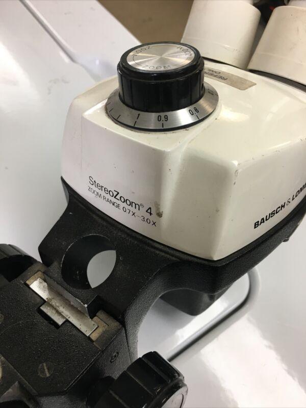 BAUSCH & LOMB - StereoZoom 4, Microscope - Zoom Range 0.7X - 3.0X