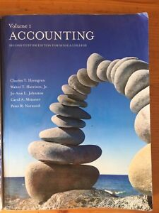 Accounting second custom edition