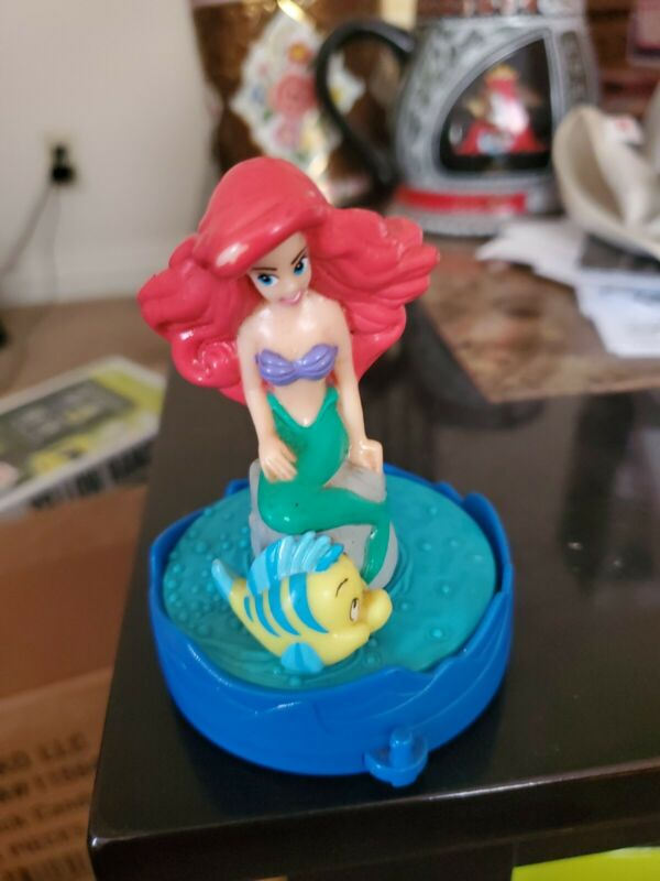 Ariel and Flounder The Little Mermaid Disney Rolling Toy