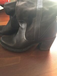 Beautiful women's leather boots