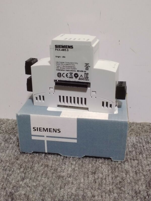 SIEMENS PXX-485.3 / PXX4853 (NEW IN BOX) Modular Expansion Module 3 RS-485