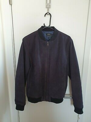 A.P.C. Suede Bomber Jacket - New, never worn - Small - make best