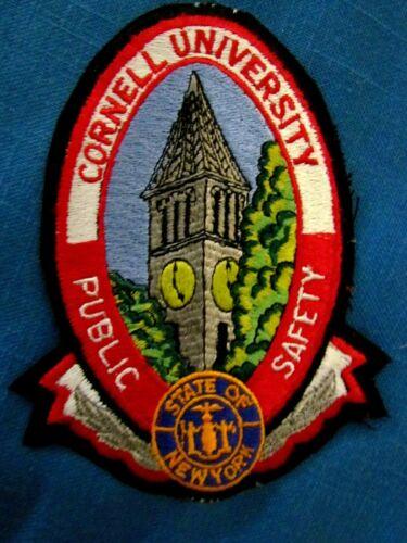Cornell University Public Safety (Police) full-sized unused uniform patch, N.Y.