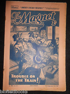The Magnet; Billy Bunter's Own Paper - WWII Era Boy's Comic - January 13th 1940