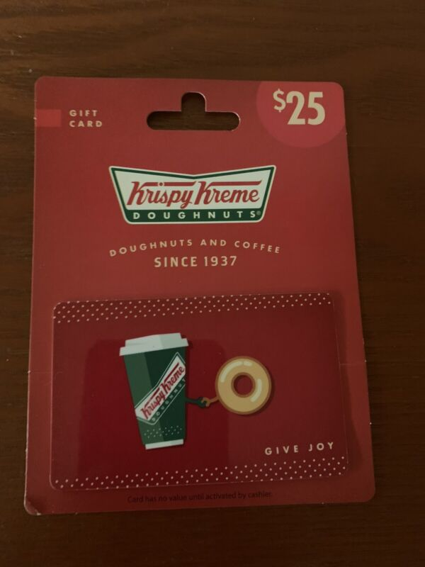 Krispy Kreme Gift Card $25