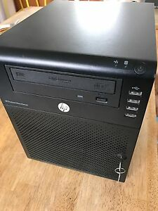 HP MicroServer N40L PC. 4TB, Great for NAS Richmond Yarra Area Preview