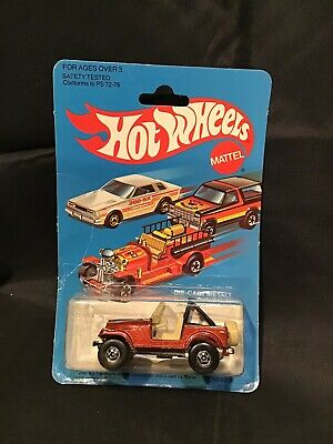 1982 HOT WHEELS JEEP CJ-7 in BROWN No 3259. (TM)