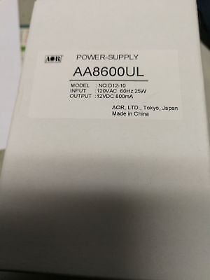 NEW AOR AA8600UL(AA8600) 120V AC Power Supply for AR-DV1 AR8600MKII