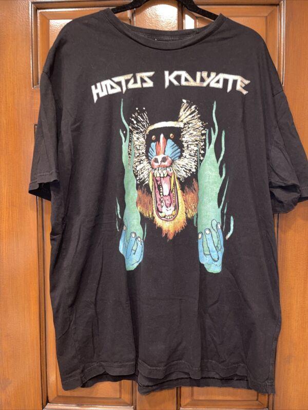 HIATUS KAIYOTE  Rare T-shirt Size 2x Choose Your Weapon Band Shirt