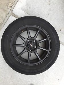 Alloy Wheels with tires. **Great Deal** 195 65 R15