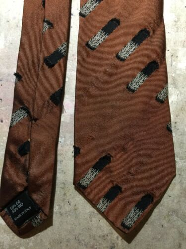 Jean Paul Gaultier Paris Vintage Tie - Burning Cigarette