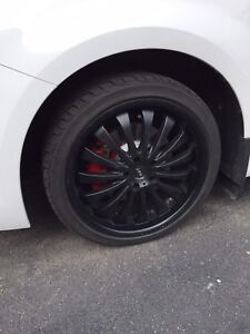 20 sports tire and rim 1000$