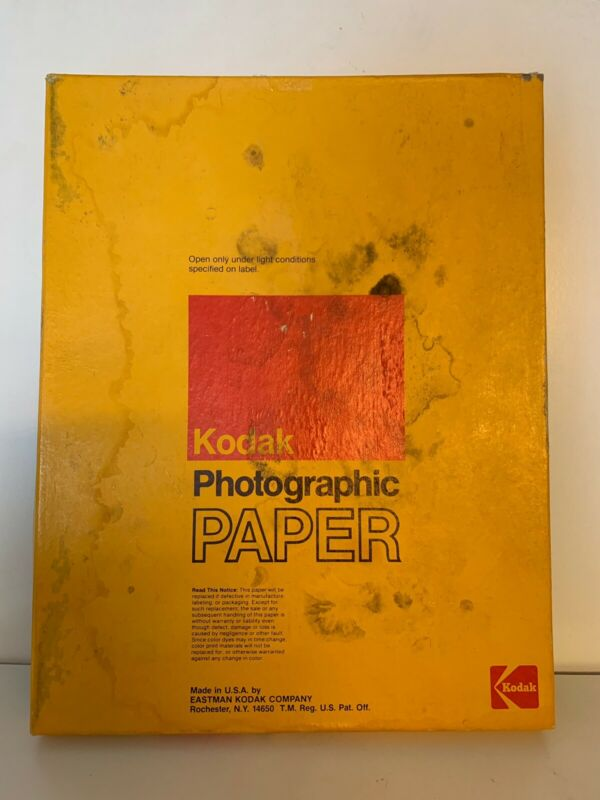 Kodak Photographic Paper 11x14 Only Outer Box Open But Inside Its Sealed 50 Shts