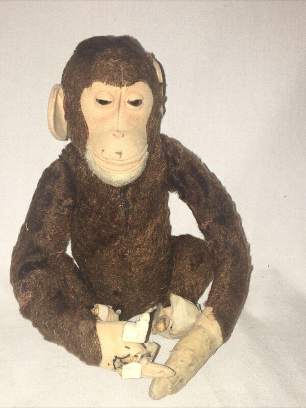 Rare Antique Steiff Monkey  Very Early 1900s