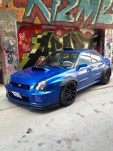 2002 wrx sti LOTS DONE ( serious buyers only )