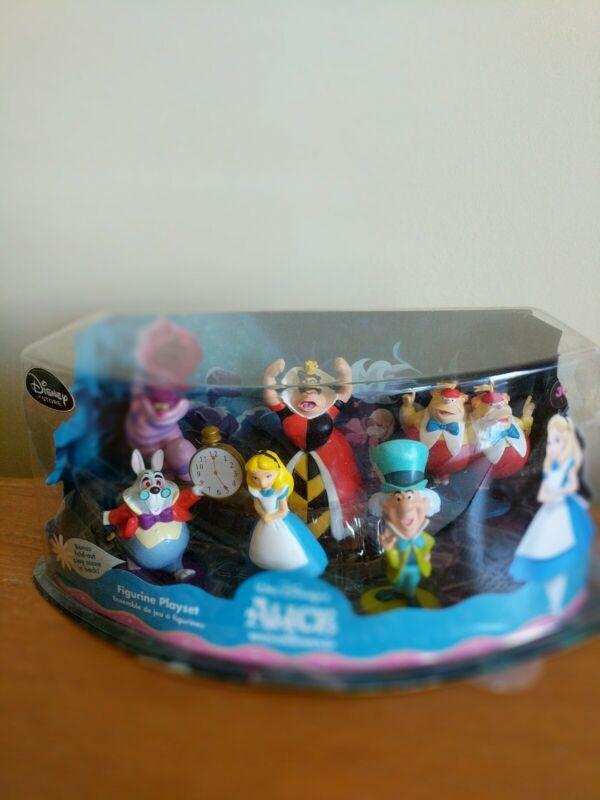 Alice in Wonderland Playset, Cake Topper