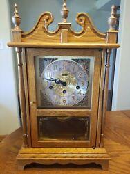 Amana Pendulum Mantle Clock With Original Receipt. Beautiful Chimes!