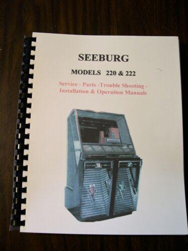 Seeburg 220 - 222 Jukebox Manual
