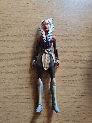 "Star Wars Classic Ahsoka Tano Clone Wars figure 3"" figure vgc"