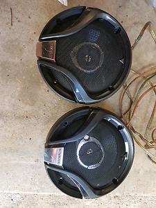 JBL Amplifier GT5- A604 & 2x Kenwood Speakers KFC-MI634A Ashfield Ashfield Area Preview