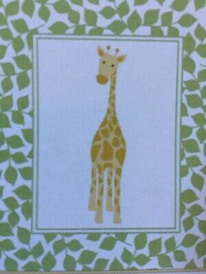 Luvable Friends Baby Blanket Plush Giraffe 30 X 36 NEW