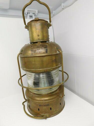 VINTAGE NIPPON SENTO NAUTICAL MARINE LAMP LANTERN  JAPAN  LIGHT