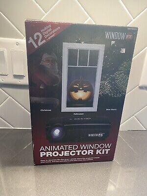 Window FX Animated Window Projector Kit Christmas 12 Seasonal Displays Decor