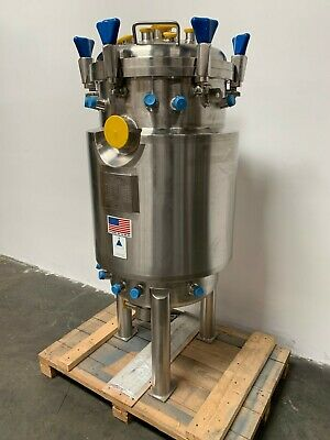 Precision 200 Liter Stainless Steel Jacketed Reactor - Bare Tank Only