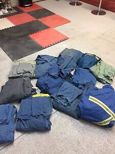 Mostly Size 48/ 2 size 50 coveralls. And 1 winter parka