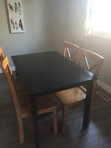 Solid wood dining table-without chairs