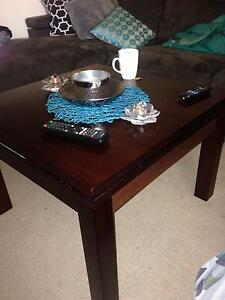 Wooden coffee table Naremburn Willoughby Area Preview