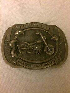 Harley Davidson Limited Edition Numbered belt buckle