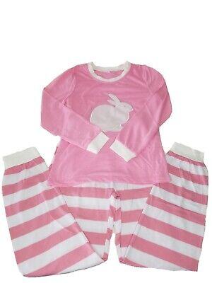 Bunny Pajamas For Kids (NWOT Girls SIZE 8-9 EASTER KIDS PAJAMAS BUNNY Pink/WHITE SPRING)