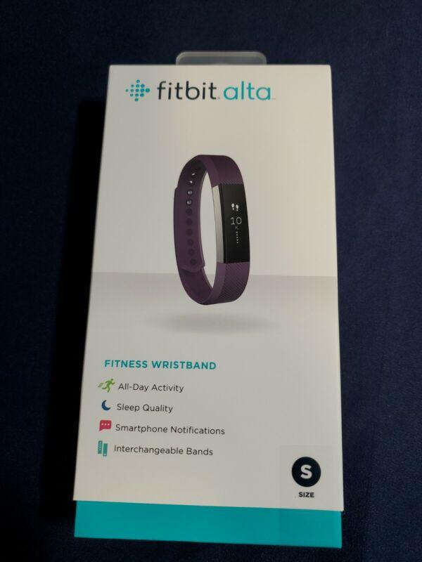 FITBIT ALTA Wristband Activity Tracker Plum Purple Size Small FB406PMS NEW