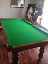POOL TABLE   AS NEW CONDITION  8 X 4 Charlestown Lake Macquarie Area Preview