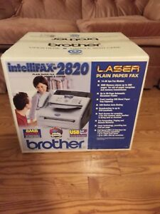 Brother Intellifax 2820 Laser Plain Paper fax, phone & copier.
