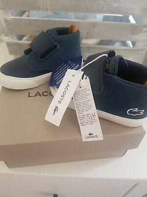 Baby Lacoste Shoes Size 3 New With Tags  Lacoste Infant Shoes