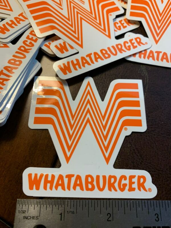 """Whataburger Sticker 3"""" For ANYTHING"""