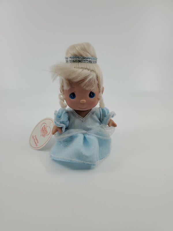 """Precious Moments Mini Moments  Disney Cinderella Vinyl 5"""" W/ Tag"""