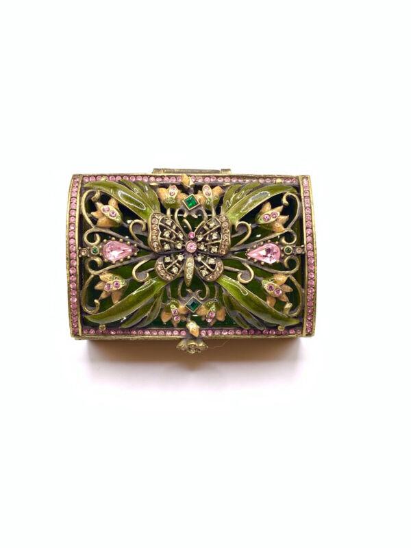 Jay Strongwater Butterfly Trinket Box