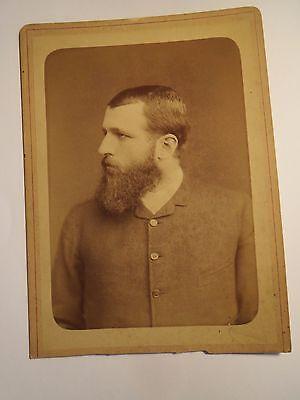 Badgastein - 1884 - Herr Bartholdo Farmer ??? als Mann mit Bart / KAB