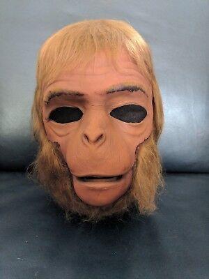 Origin Of The Halloween Mask (1975 Don Post Vintage POTA Dr Zaius Original Monster Mask Planet of the)
