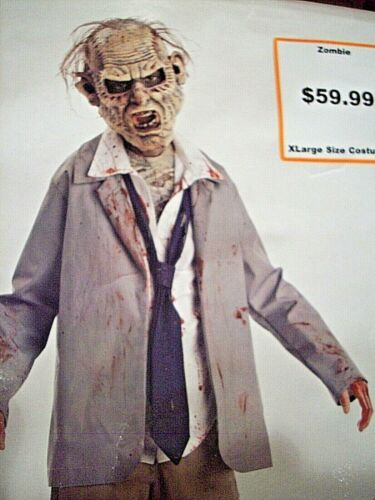 Halloween Costume ZOMBIE Walking Dead GHOUL, Monster    Boys Large 10-12   NEW