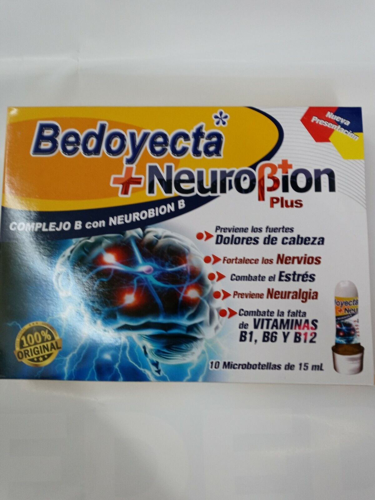 BEDOYECTA+ NEUROBION PLUS