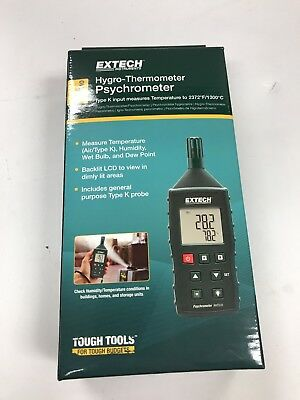 Extech Rht510 Temperature And Humidity Meter Brand New -free Shipping-
