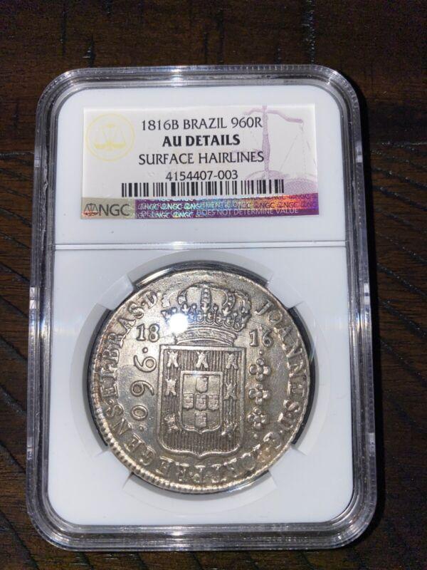 1816 Brazilian Shipwreck Huge Silver Coin Recovered Off Northern Brazilian Coast